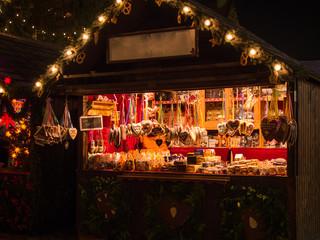 weihnachtsmarkt lebkuchenstand Wall mural