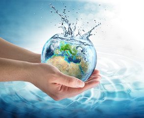 Wall Mural - water conservation in Europe
