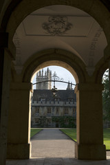 The details of New Buildingof Oxford Magdalen College
