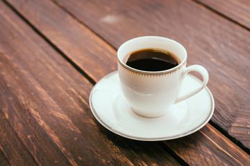 Black coffee cup