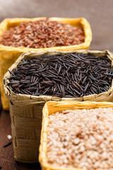 different rice