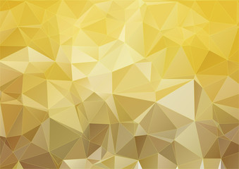 Yellow modern polygonal background