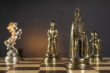 Some Metallic Chessmen