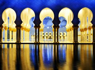 Fotobehang Midden Oosten White Mosque