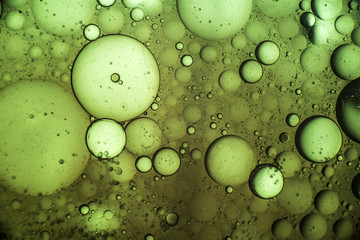 Oil mixed with Water