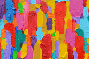 Texture, background and Colorful Image of an original Abstract P