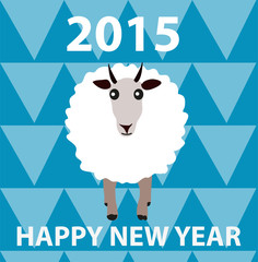 Happy new year 2015 of goat