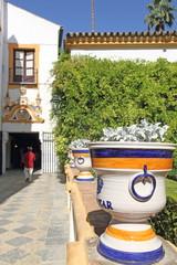 El Alcazar de Sevilla, Spain