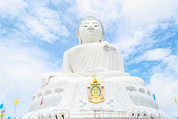Big white Buddha Thailand