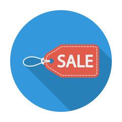 Sale Label icon.