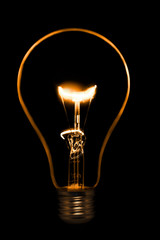 old style incandescent bulbs