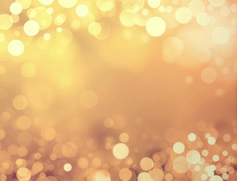 festive shiny gold background
