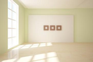 modern 3d interior