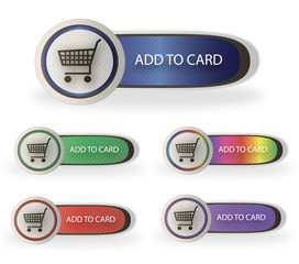 Web add to card buttons