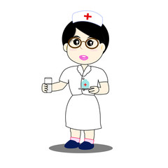 nurse - Illustration