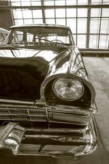 ancient Soviet luxury car