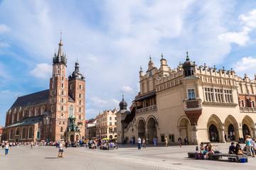 Fototapeta St. Mary's Church in Krakow obraz