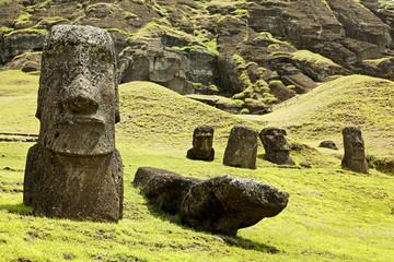 Rapa Nui National Park on Easter Island
