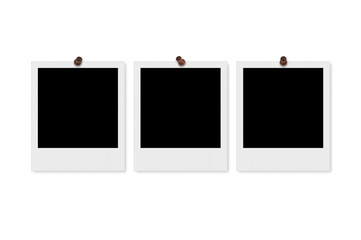Blank Polaroid Photo Frame