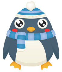 Scarf and Hat Penguin