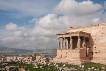 Erechtheion in Athens, Greece