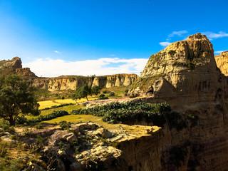 Photo sur Toile Algérie ethiopie, massif du Gheralta