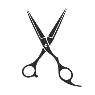 Vintage barber shop scissors