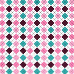 Patrón textil retro