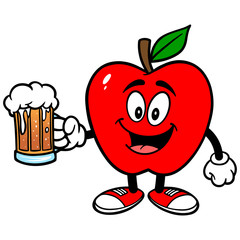 Apple with Beer