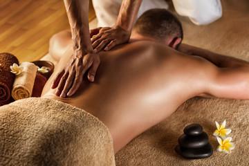 Deep tissue massage Wall mural