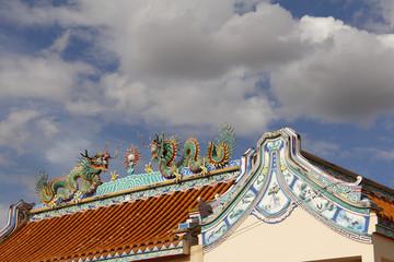 chinesisches Haus in Südostasien