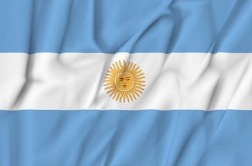 Fabric Flag of Argentina