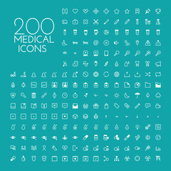 Healthcare & medical icon set