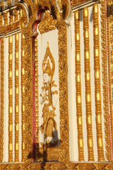 goldener Tempel in Asien