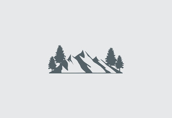 mountain-vector-logo