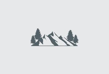 mountain-vector-logo