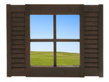 Fenster mit aussicht auf eine feldlandschaft stockfotos - Fenster mit aussicht ...