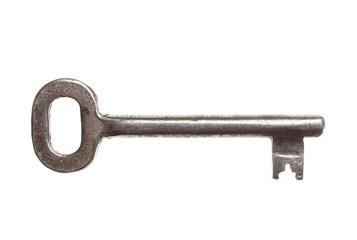 key on white background