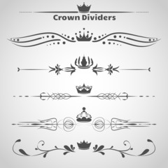Set of dividers