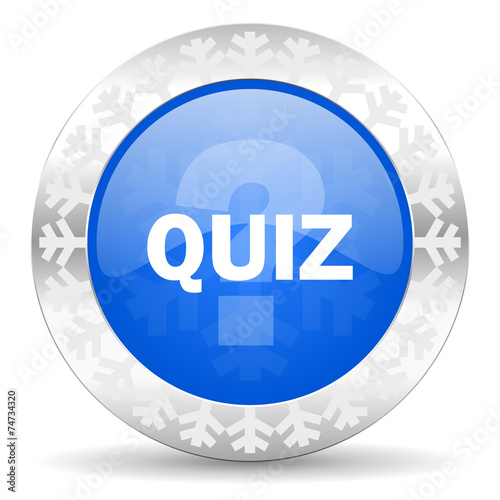 """quiz blue icon, christmas button"" Stock photo and royalty ..."