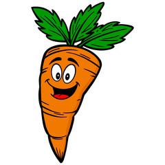 Carrot Cartoon Mascot