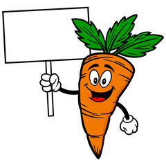 Carrot with Sign