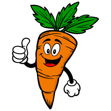 Carrot with Thumbs Up