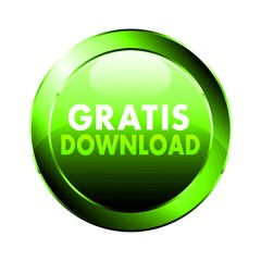 Gratis Download - Button grün