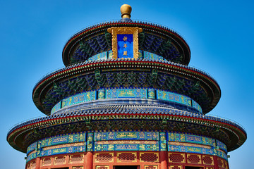 Photo sur Toile Pékin Temple of Heaven Beijing China