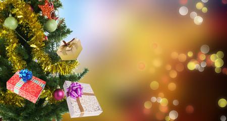 Merry Christmas.New Year Tree