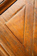 in mozzate rusty brass brown knocker e