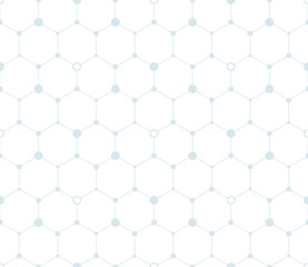 seamless pattern hexagon
