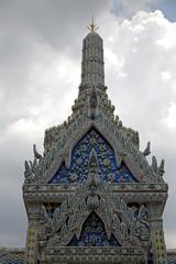 thailand  bangkok in  rain     colors religion  mosaic