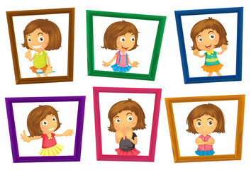 Children and frames